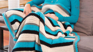 Crochet Through Thick and Thin Throw