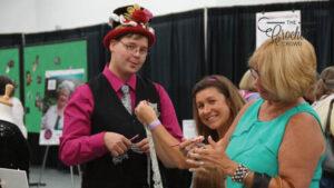 Crochet Top Hat At Show