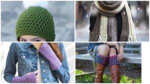 Crochet Winter Set