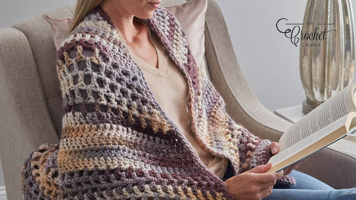 Crochet Wrapture Shawl