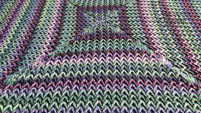 Good Vibrations Afghan by Jeanne Steinhilber