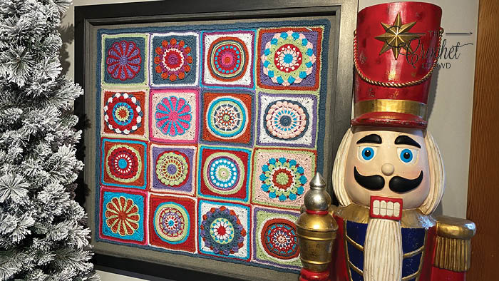 Mikey's Crochet Wall Hanging Picture