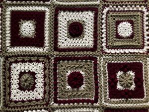 7 Day Sampler Afghan by Jeanne Steinhilber