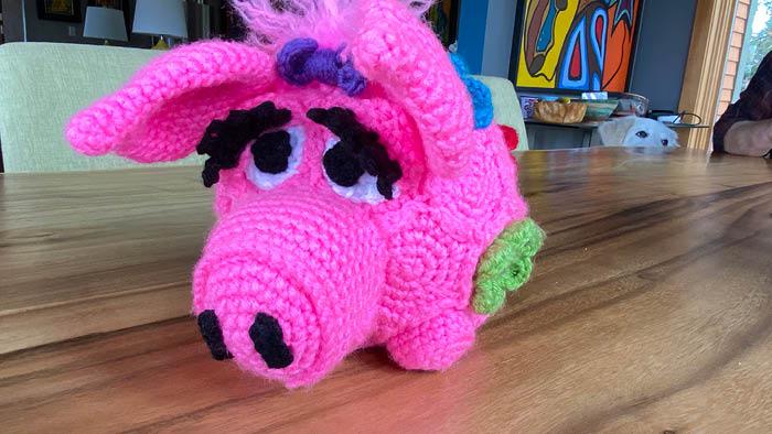 Crochet Round Rascals Pig