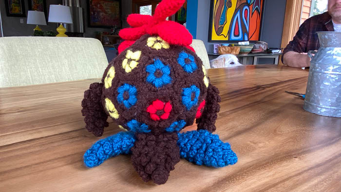Crochet Round Rascals Rooster