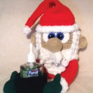 Crochet Sniffle Station Santa