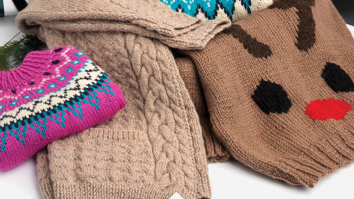 Crochet and Knit Sweater Round Up