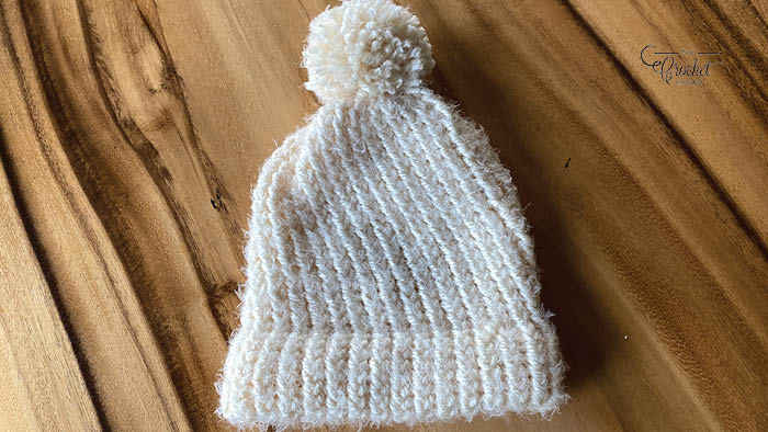 Loom Knit So Soft Baby Hat