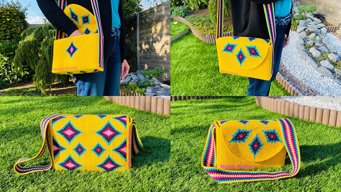 Mochila Messenger Bag
