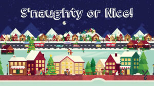 Snaughty or Nice Banner