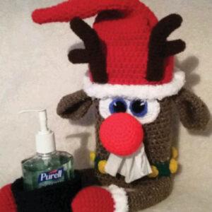 Sniffle Station Reindeer