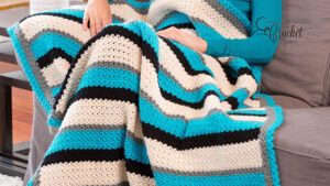 Crochet Through Thick and Thin Blanket