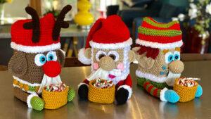 Crochet Christmas Puzzle Finale