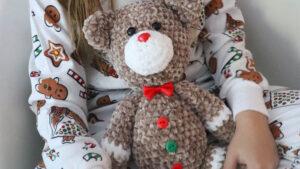 Crochet Gingerbread Bear