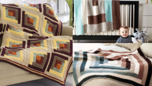 Crochet Log Cabin Pattern Collection