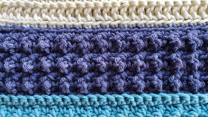 Crochet Stitch is Right Faux Popcorn Stitch