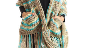 Crochet With Love Pocket Shawl