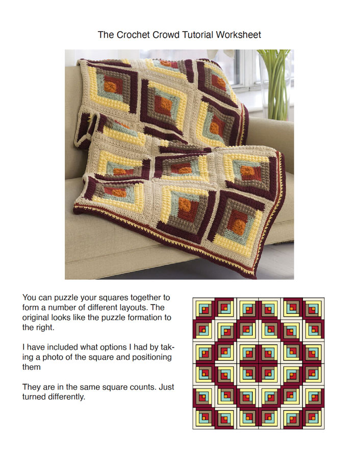 Log Cabin Square Layouts