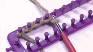 Loom Knit Flat Loom Chain Cast On
