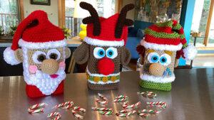 Reindeer Crochet Puzzle Along