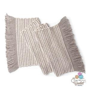 Crochet Tweed Wrap