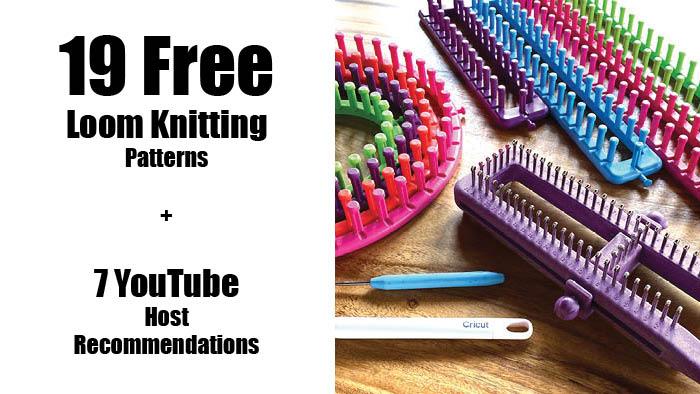 19 Free Loom Knitting Patterns