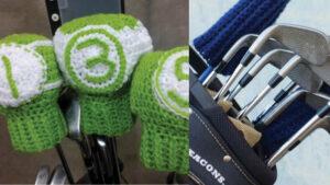 Bob Wilson Crochet Golf Club Covers