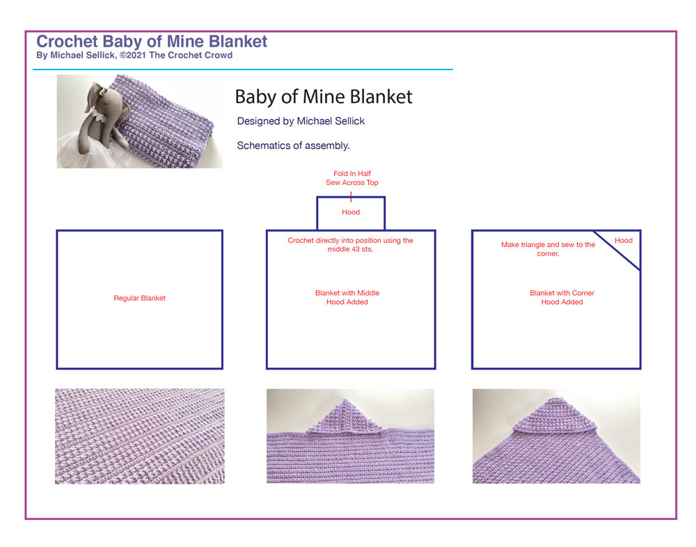 Crochet Baby of Mine Schematics