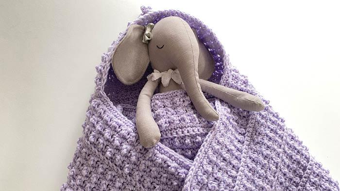 Crochet Baby of Mine Side Hood