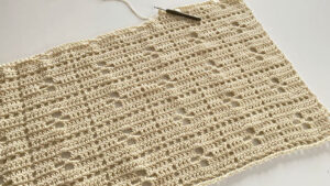 Crochet Call the Midwife Blanket Off White