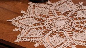 Crochet Lydia's Pineapple Symphony Doily