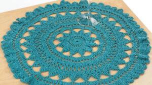 Crochet Mediterranean Surf Doily