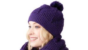 Crochet Twist and Shout Hat