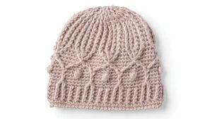 Crochet Winter Trellis Hat