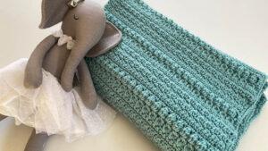 Crochet XYZ Hooded Baby Blanket