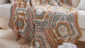 Desert Dreams Crochet Throw