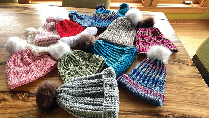 Donation Hats from Tutorials