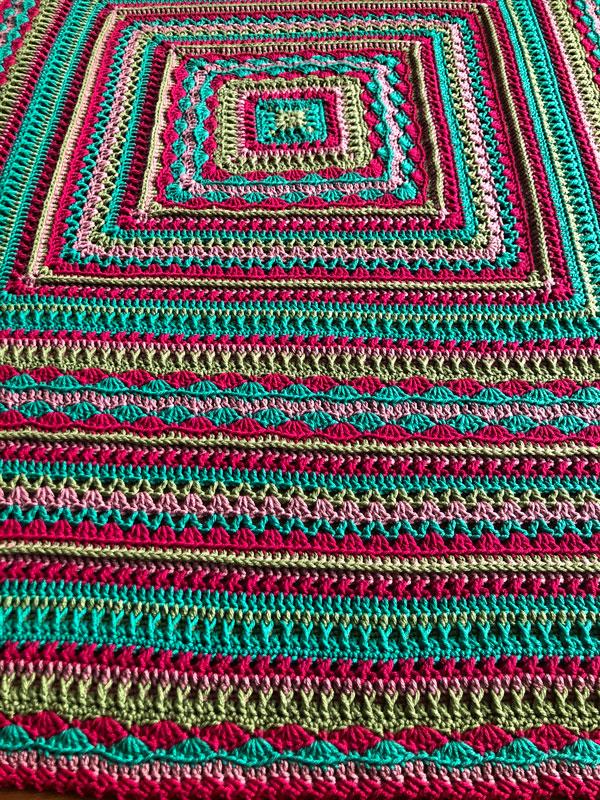 Healing Stitches XL Afghan by Jeanne Steinhilber