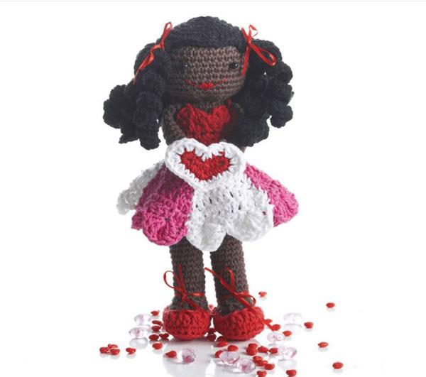 Lily Sugar'N Cream Valentine Lily Doll
