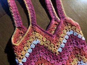 Modern Granny Boho Bag by Jeanne Steinhilber