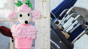 Poodle Golf Club Covers