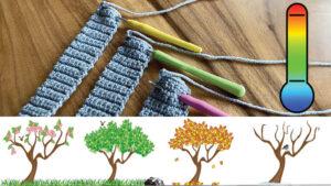 Sizing Temperature Crochet Blankets