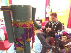 Mikey - Crochet Nutcracker Construction