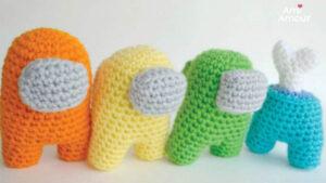 Among Us Crochet Pattern