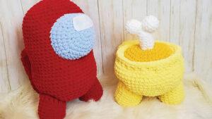 Crochet Among Us Characters