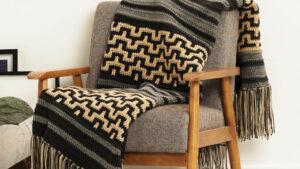 Crochet Mosaic Stitch Blanket