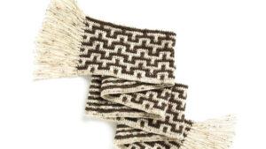 Crochet Mosaic Stitch Scarf
