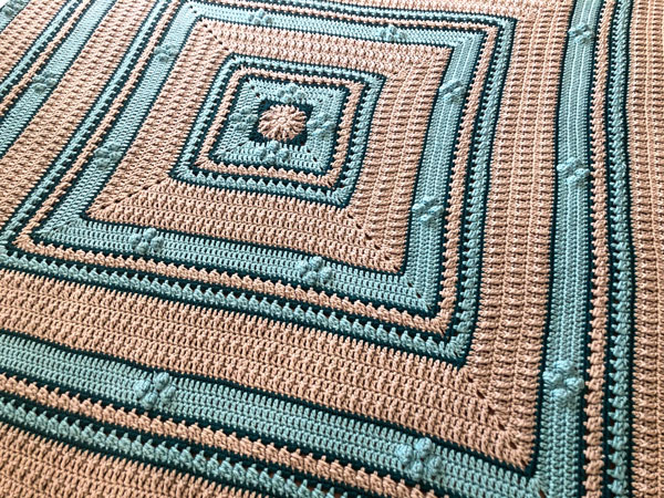 Good Stitch Day Afghan by Jeanne Steinhilber