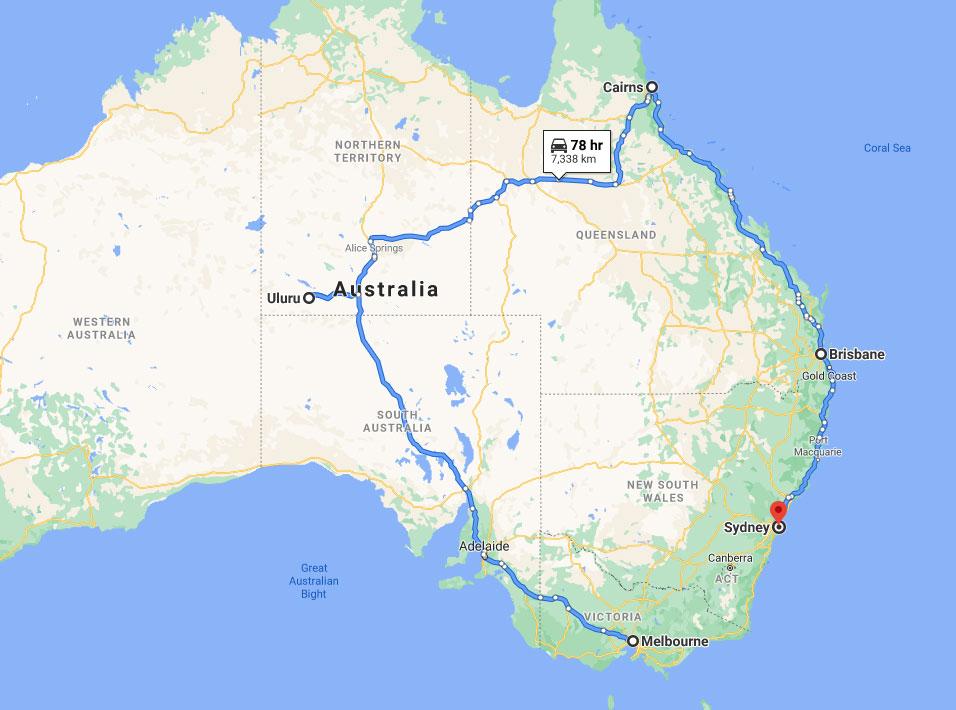Australia Outback Tour