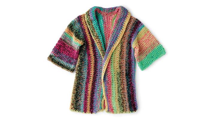 Crochet Easy to Wear Cardigan
